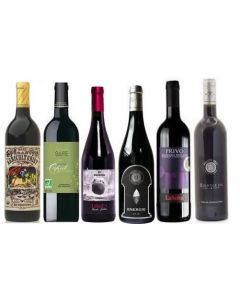 Sulphite Free Mixed Red Wine Case 7