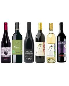 Sulphite Free Mixed Mainly Red Wine Case