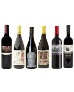 Sulphite Free Mixed Big Red Wine Case