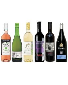 Sulphite Free Mixed Wine Taster Case