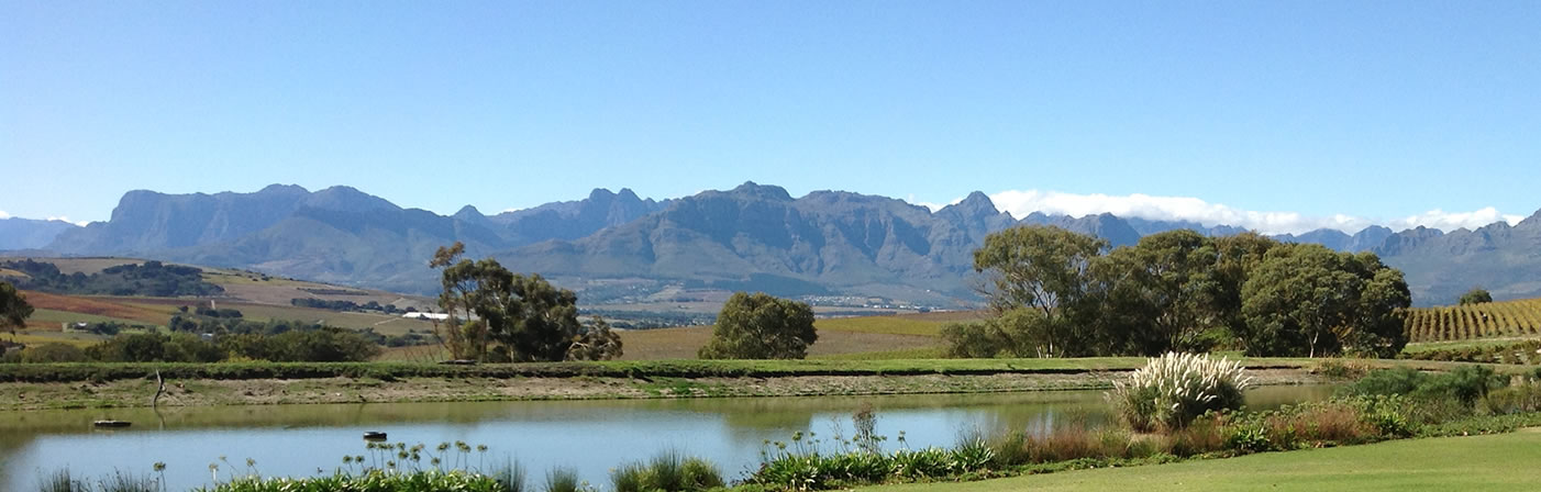 View from Jordans Winery