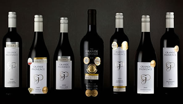 Grande Provence award winning wines