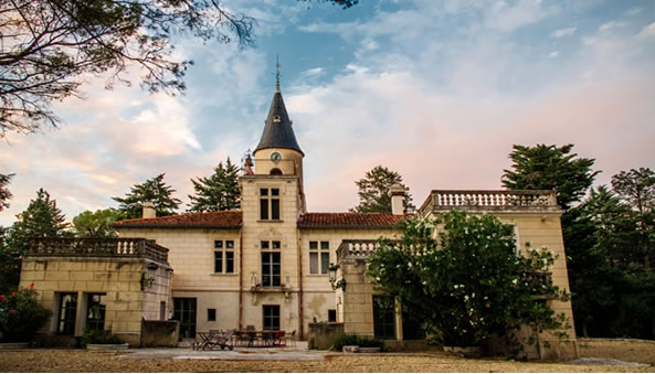 Costes Cirgues - the Chateau