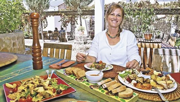 Beatte Joubert and her amazing food